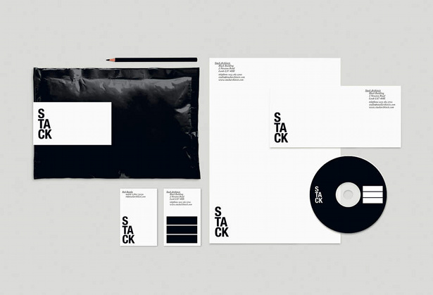 Stack Architects, corporate identity and naming by The Consult
