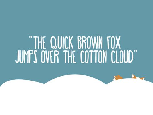 Free font: Happy Fox