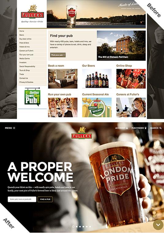 Fullers homepage