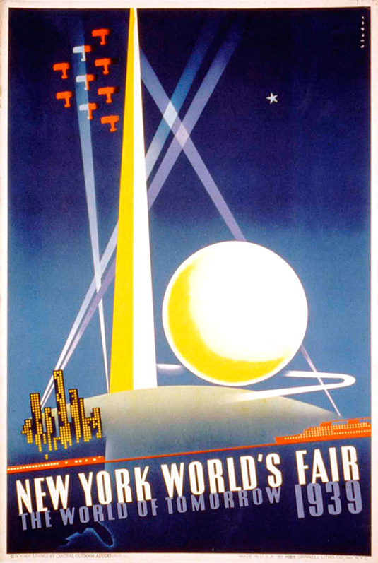 Vintage posters - NY World Fair