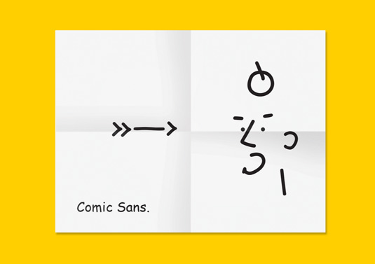 Comic Sans portrait