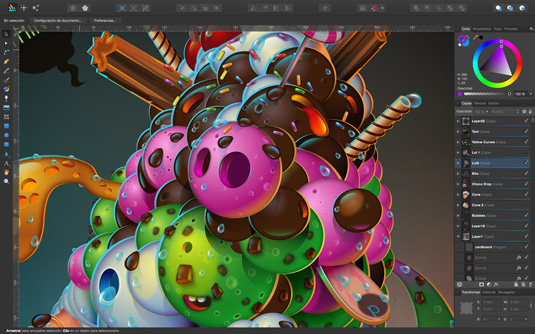 Affinity Designer 1.2 screenshot