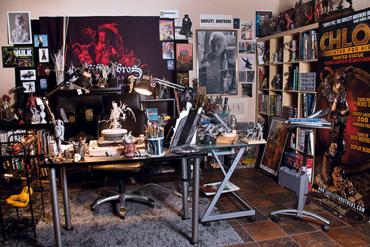 Nerds paradise: The Shiflett's have a space to envy