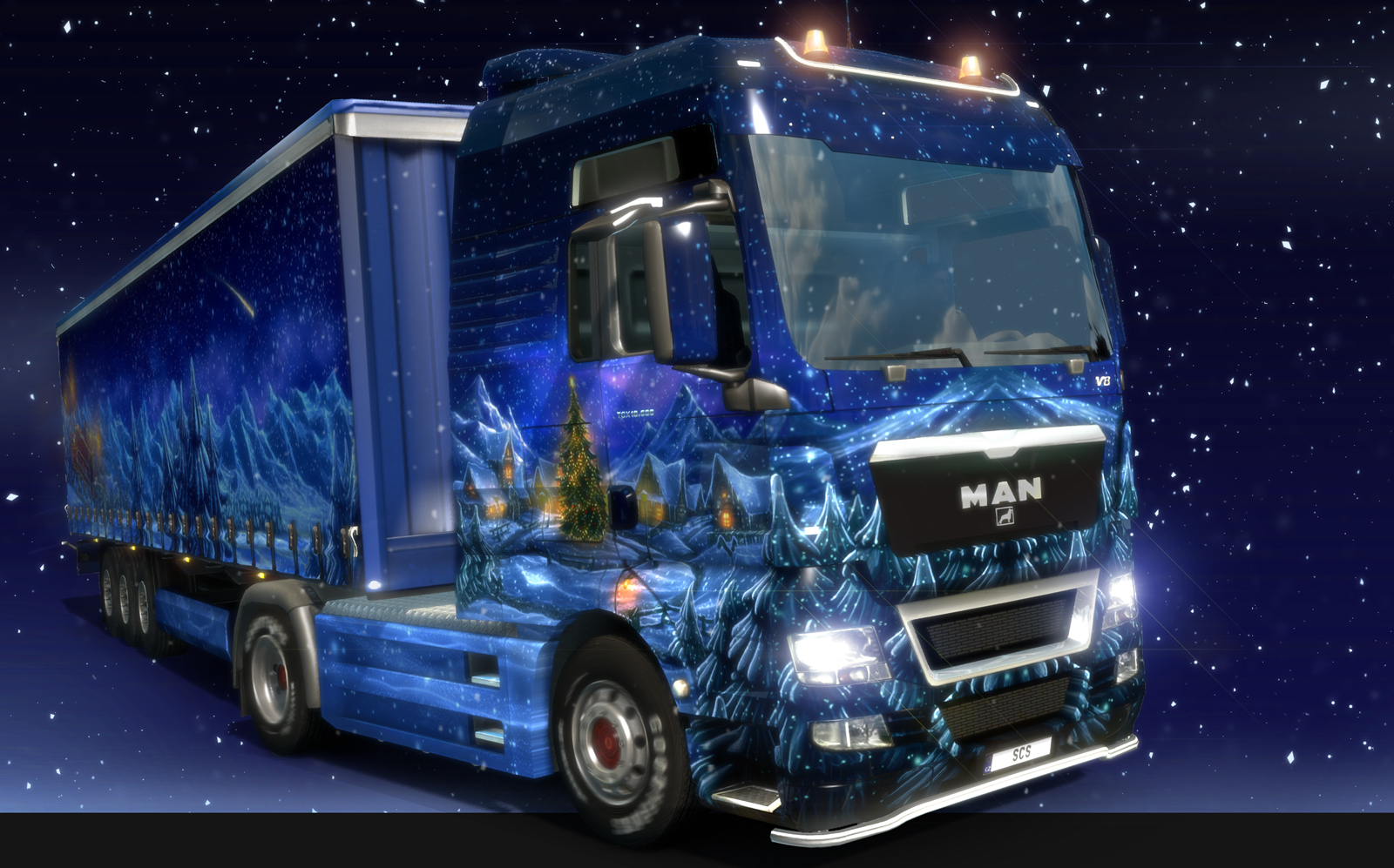 Euro Truck Simulator 2 Gets Into The Seasonal Spirit With