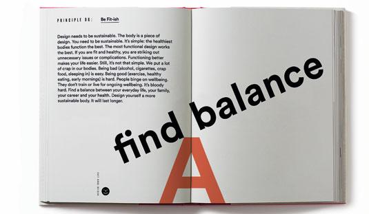 Design your life: balance