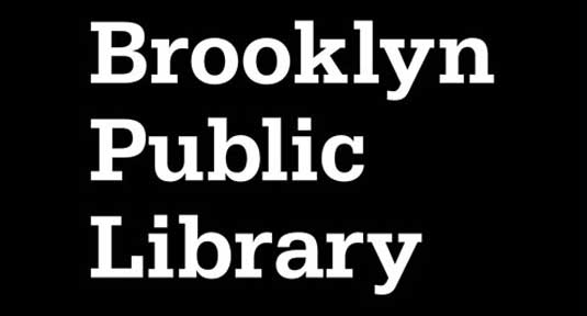 Logo designs of 2013: brooklyn library old