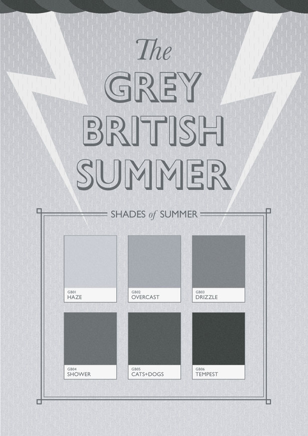 The Grey British Summer by Dave Gogarty