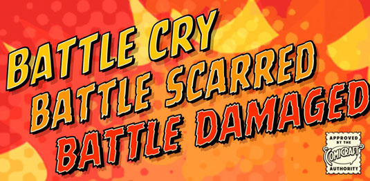 Battle Cry font