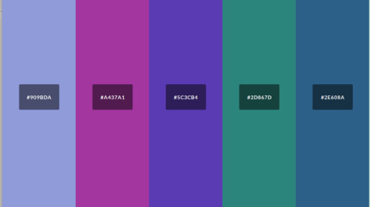 Build a palette with color