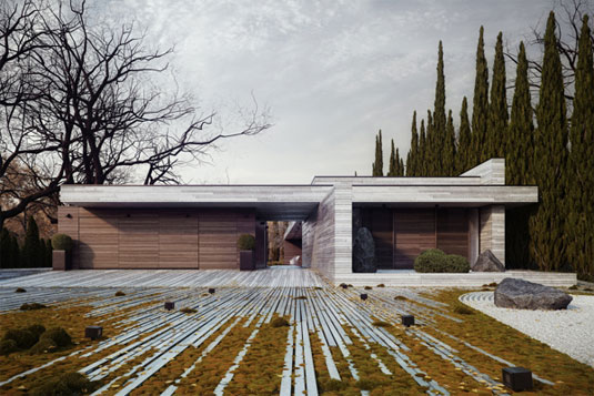 inspiring examples of landscape design - Minimalist Landscape Architecture