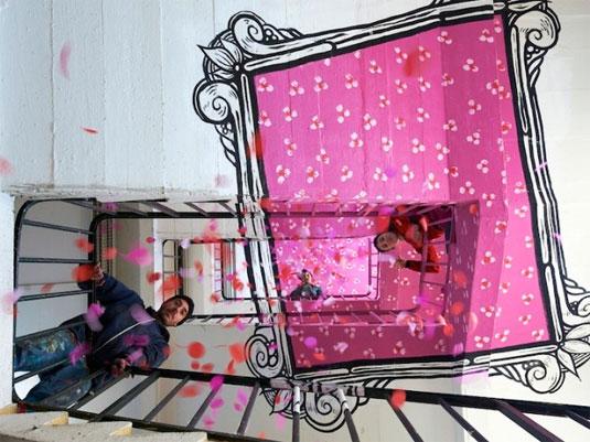 street art frames