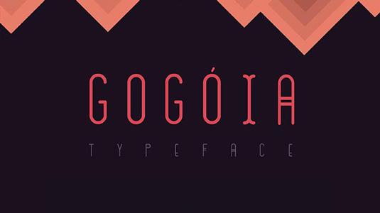 Free font: Gogóia