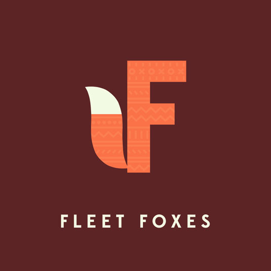 fleet foxes typography