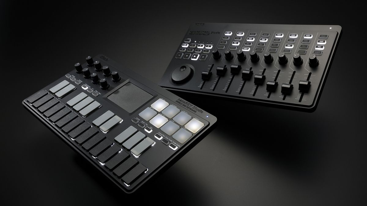 namm 2016 new korg nanoseries studio midi controllers let you play and mix wirelessly musicradar. Black Bedroom Furniture Sets. Home Design Ideas