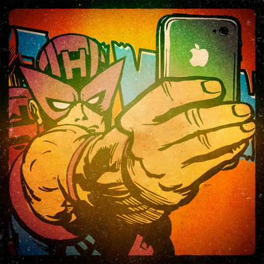 superhero selfies