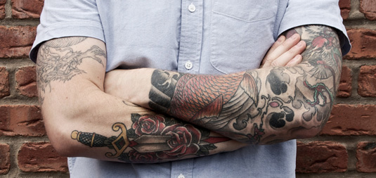 awesome tattoos: Matt Booth