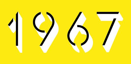 Glaser font