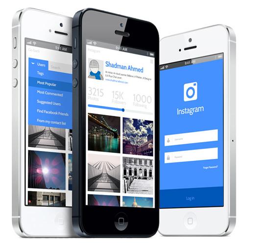 Instagram redesign concept 6