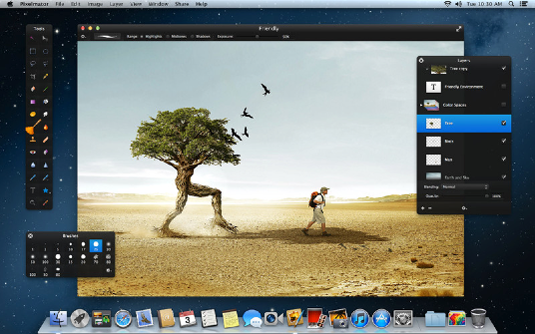 Alternatives to Photoshop: Pixelmator
