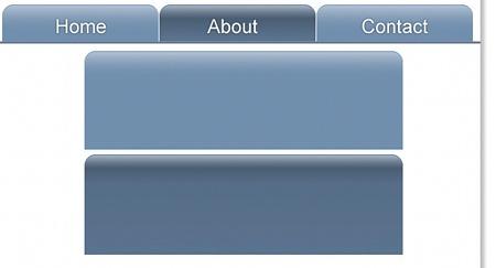 gradient tab CSS3