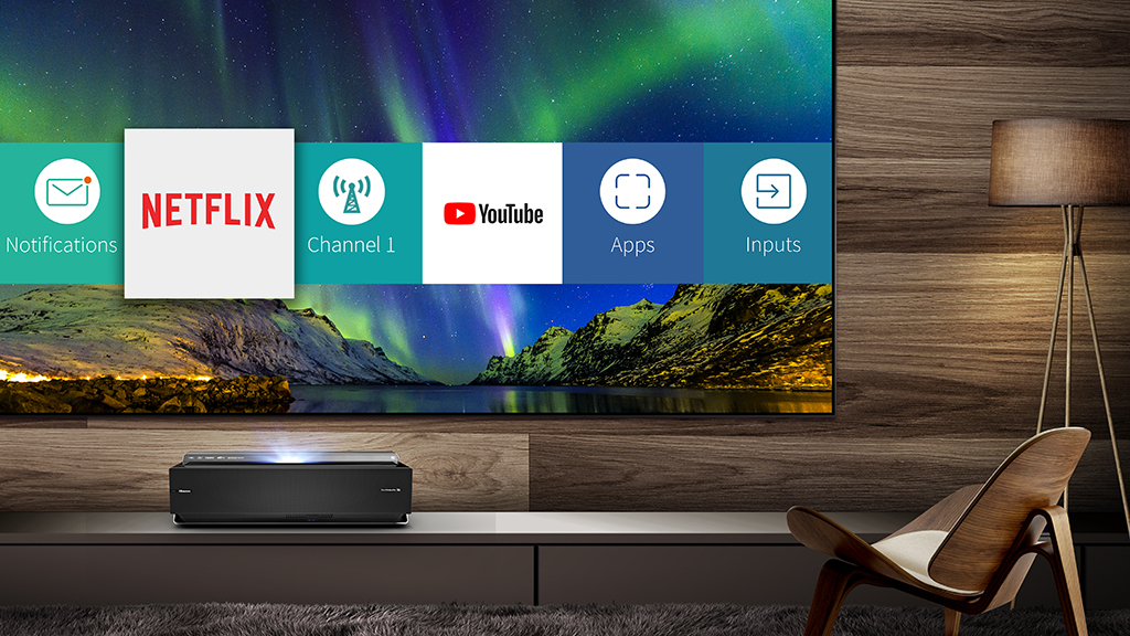 Hisense's huge 100-inch 4K projector/TV hybrid is finally coming to Australia