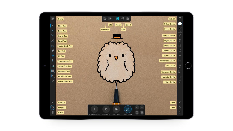 Affinity Designer for iPad