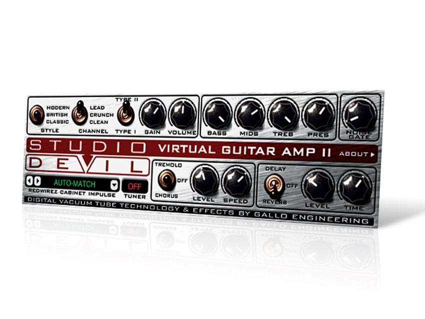 Studio Devil Virtual Guitar Amp Ii Review Musicradar