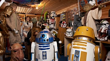 Star Wars shed
