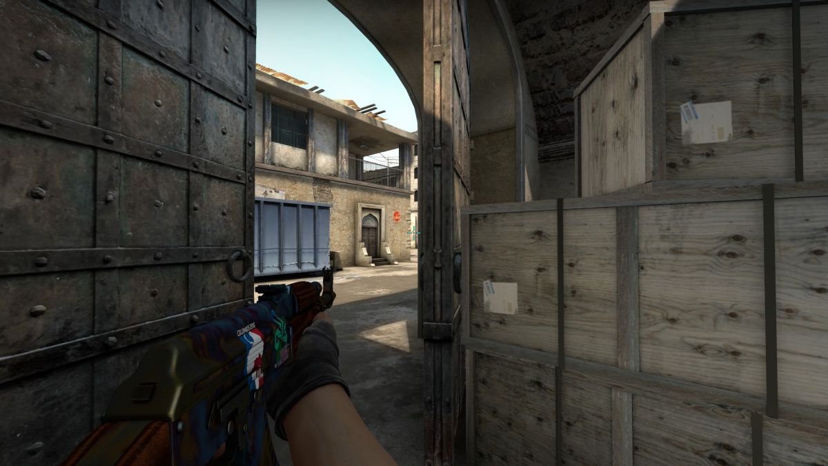 How to attack on CS:GOs Dust2 map   PC Gamer