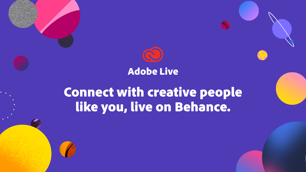 Tune in to Adobe Live for a daily dose of inspiration