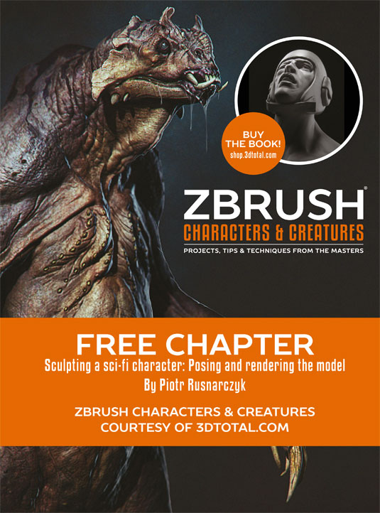 3D World Zbrush chapter