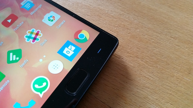OnePlus 2 Capacitive Key and Fingerprint Sensor