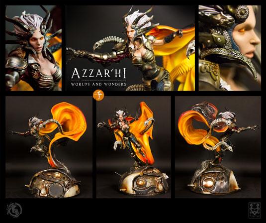 azzarhi statue