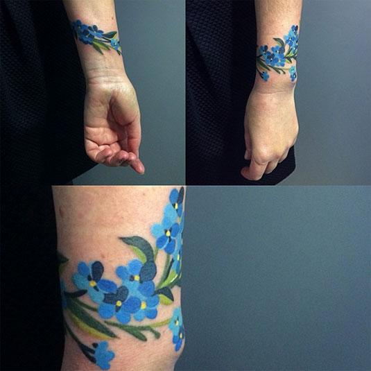 13 incredible examples of watercolor tattoo art: Sasha Unisex