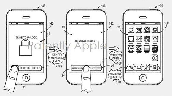 Apple patents fingerprint sensor for biometric iPhone ...