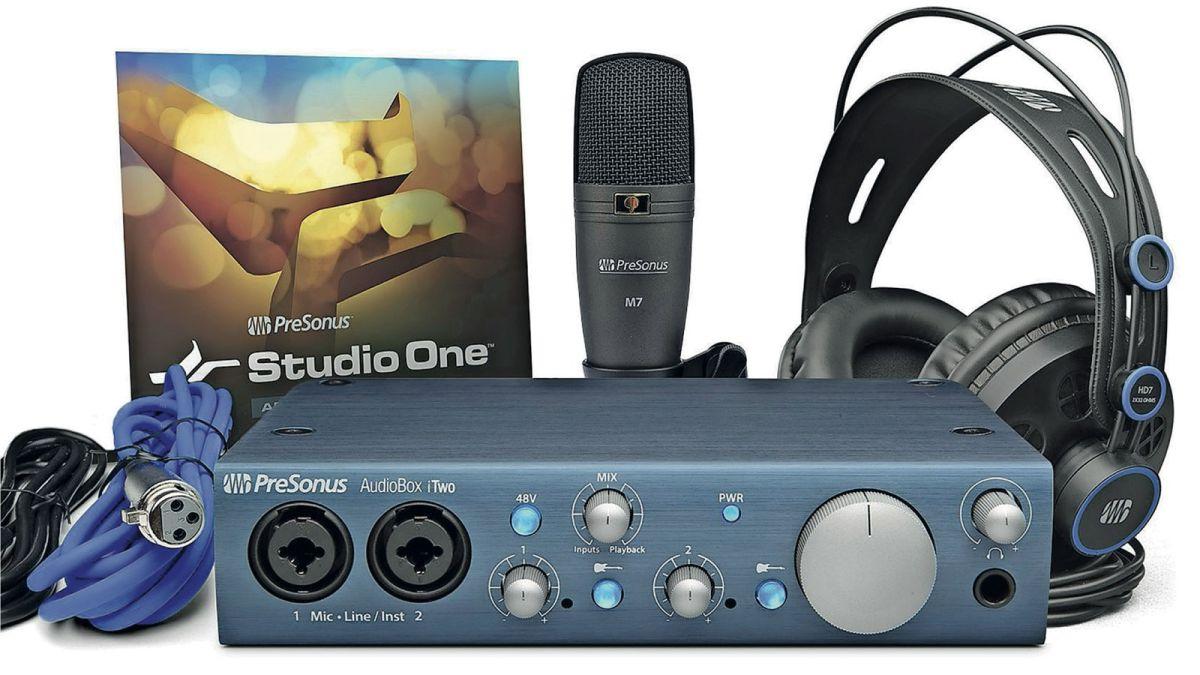 presonus audiobox itwo studio recording kit review musicradar. Black Bedroom Furniture Sets. Home Design Ideas