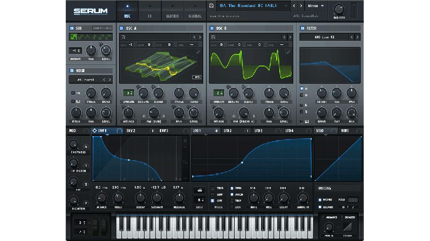 Xfer Serum VST Crack Full Serial Number Latest