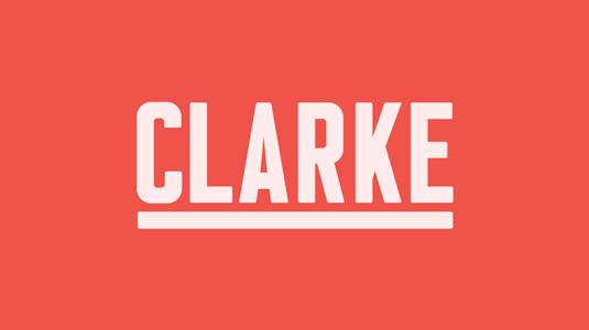Clarke font