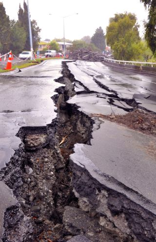 Chistchurch earthquake (New Zealand, 2011)
