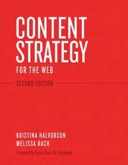 Web design books: Content Strategy for the Web