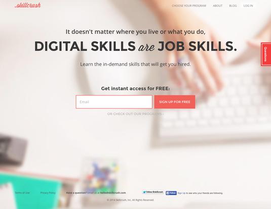 Online coding courses: Skillcrush