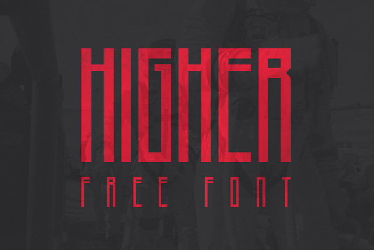 Free font: Higher