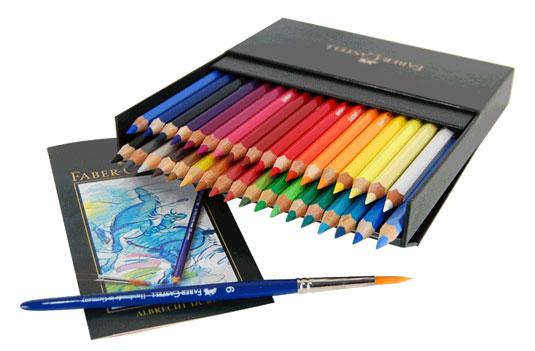 Best pencils - Albrecht Dürer watercolor pencils