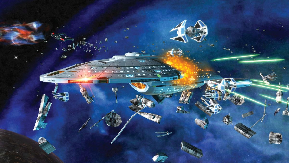 Pitting star wars against star trek in star wars empire for Star wars kuchenutensilien
