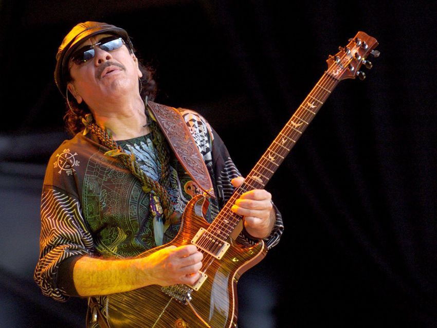 carlos santana covers ac dc the beatles zeppelin on upcoming album musicradar. Black Bedroom Furniture Sets. Home Design Ideas
