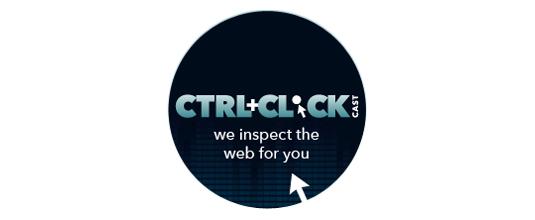 Web design podcasts: CTRL+CLICK CAST