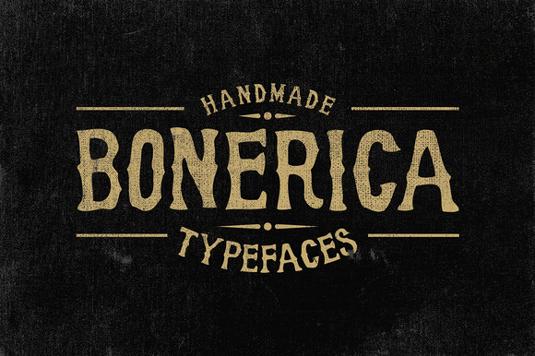 Free font: Bonerica