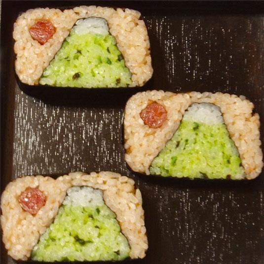 sushi paintings