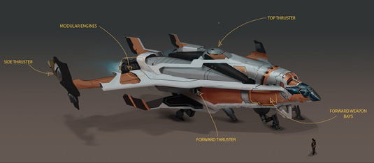 Game Space Ship: step 12