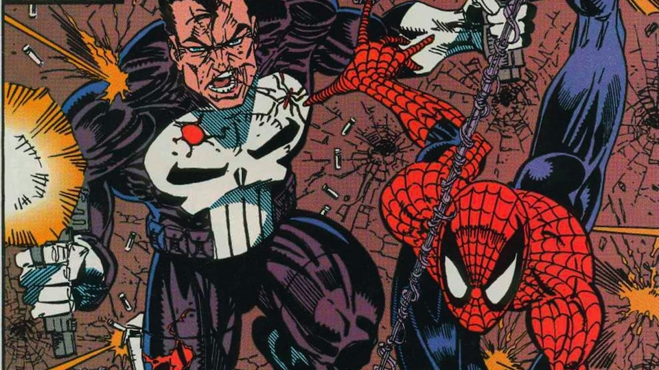 Image result for the punisher spiderman